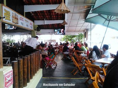 Sal Marinho Restaurant'Bar: Varanda