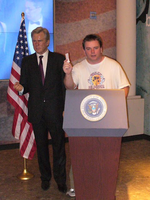 Madame Tussauds Las Vegas wax figure George Bush