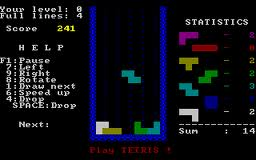 first tetris game