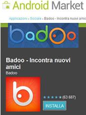 Badoo per Android nel market
