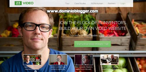 crear tu propio portal de vídeos gratis con 23video
