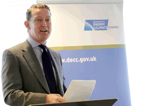 Greg Barker when he launched DECC's Energy Efficiency Deployment Office