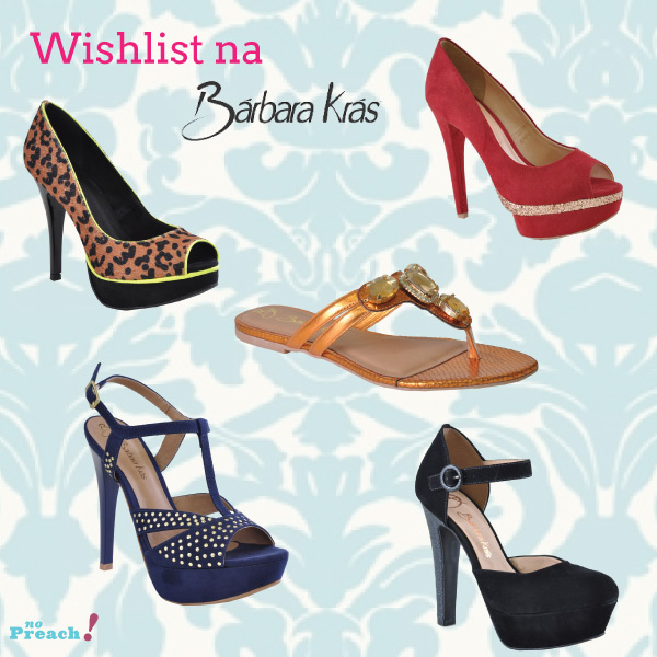 sapatos barbara kras - wishlist