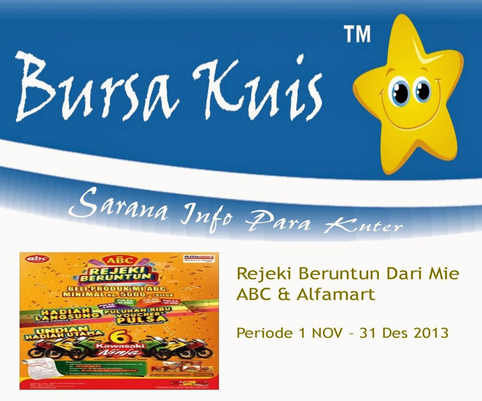 Rejeki Beruntun Mie ABC & Alfamart