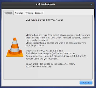 VLC 2.0 Ubuntu PPA