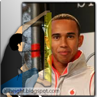What is Lewis Hamilton's height?