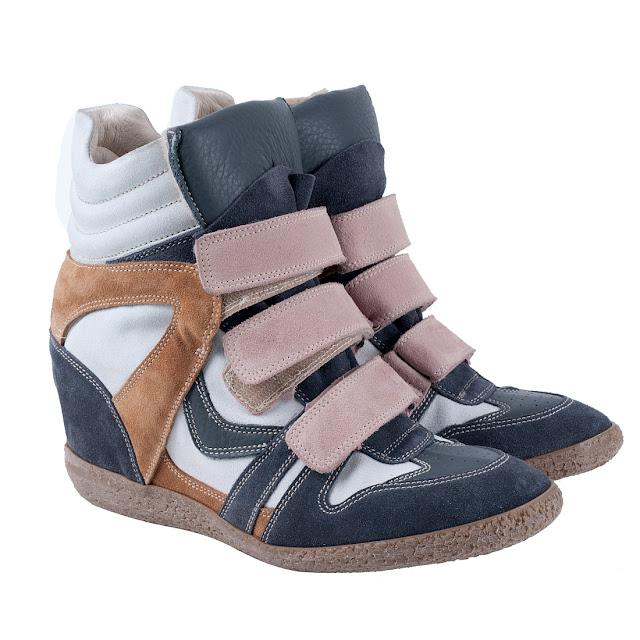lemarè sneakers donna, amanda marzolini italian fashion blogger, the fashionamy, flluo colors wedge shoes, golden shoes, golden sneakers, fluo denim,