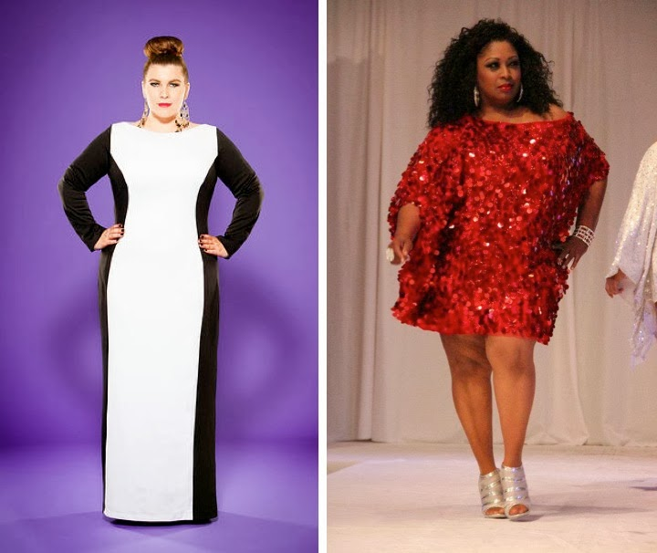 Purple Diva Designs, Plus size clothing, Haute Curves