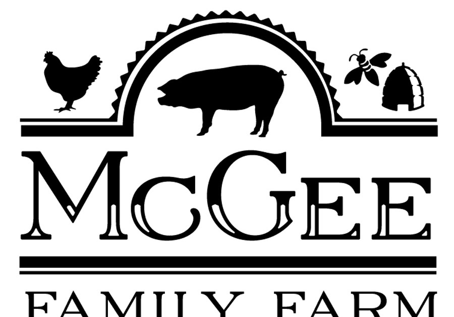 new logo design mcgee family farm alex m clark design
