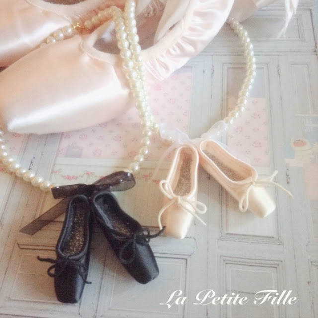 Pointe Shoe Necklace Uk