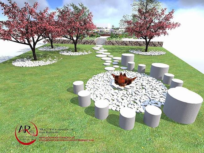 ogród tarasowy