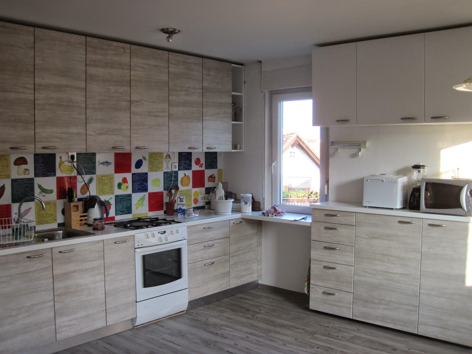 vecna-optimistka: Nova tla ali kako sem dobila kuhinjo nazaj