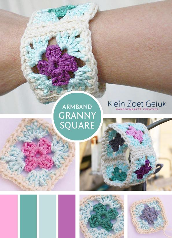 Armband Granny Square