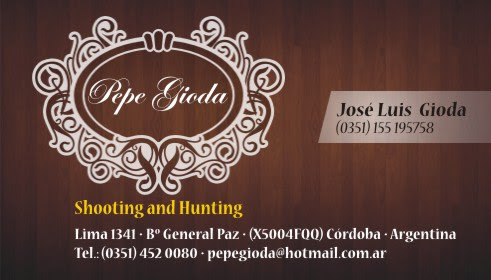 "Pepe Gioda ""Shooting and hunting"""