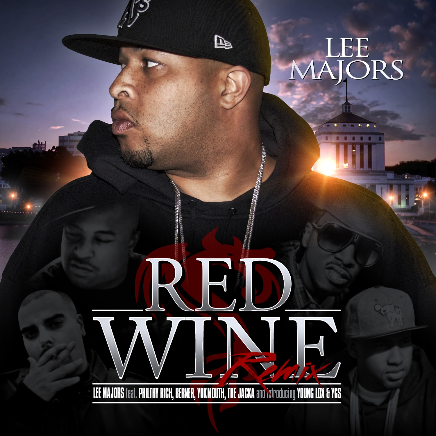 lee majors red wine remix