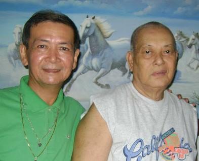 With former NBI Director Epimaco Velasco
