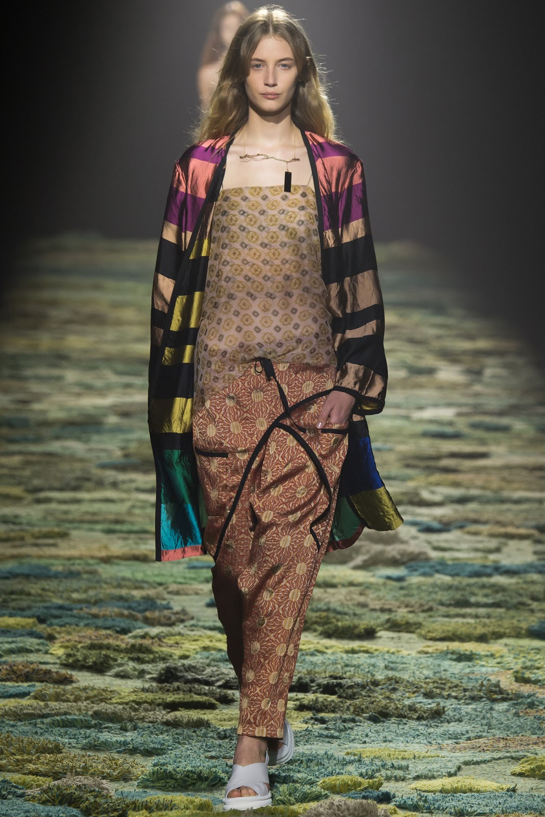 Melina Gesto Dries van Noten Spring 2015