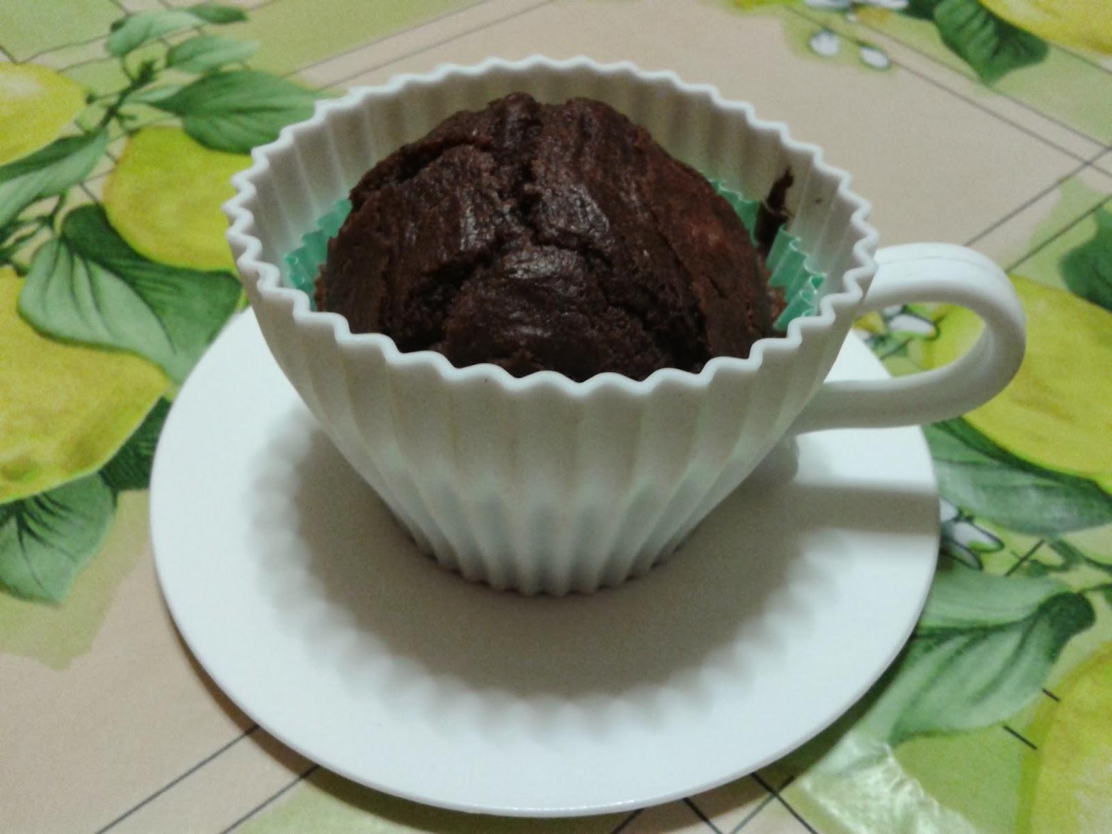 muffin al cacao (ricetta tratta da