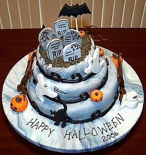 Cakes for Halloween Parties