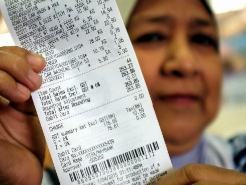 Gambar Resit Pembelian Menjadi Trending Di Facebook