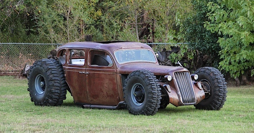 Cheap Mud Tires For Trucks >> American Rat Rod Cars & Trucks For Sale: More Insane Rat Rods