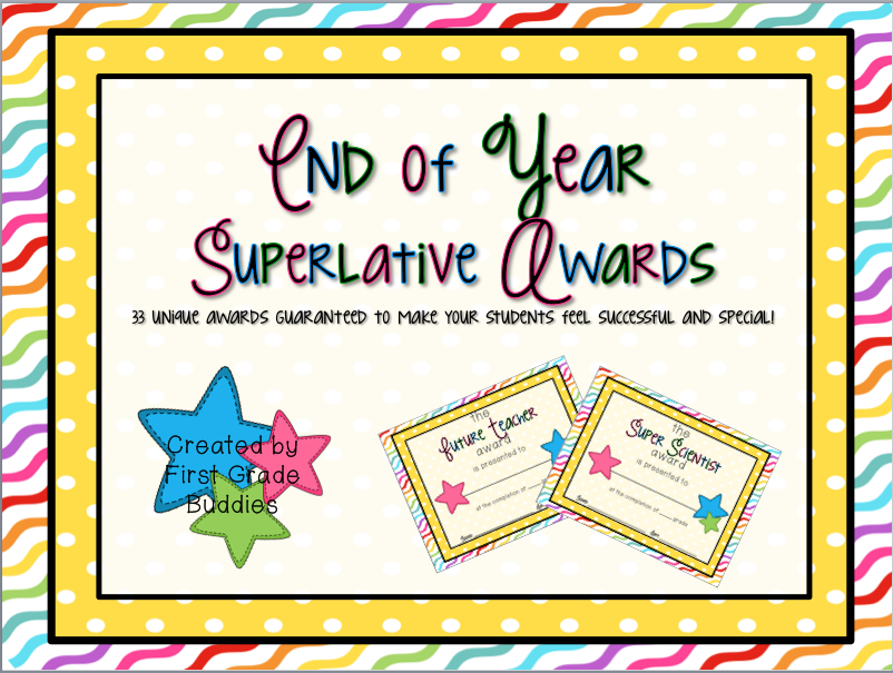 superlative award manic monday