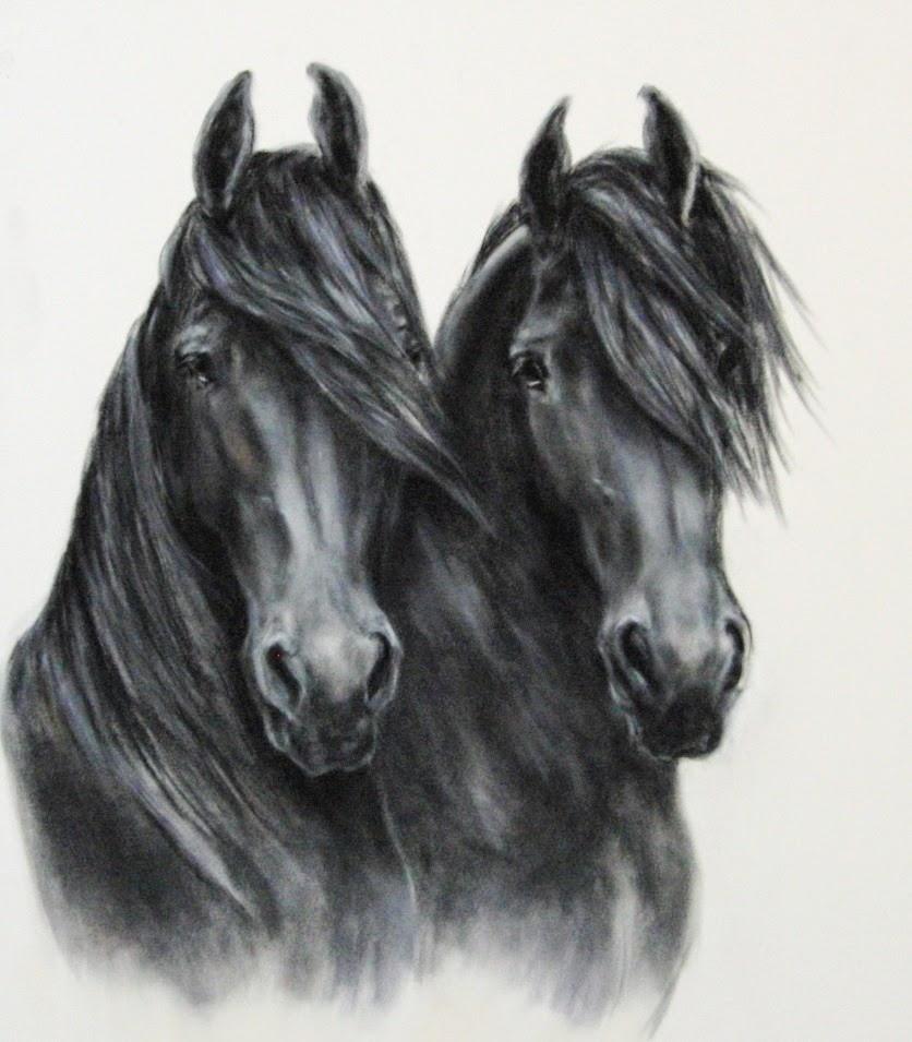 paardenportret, paardenschilderij, horse painting, horse painter, pferde maler, paardenschilder, paardenportret in pastel, paardenportret in opdracht