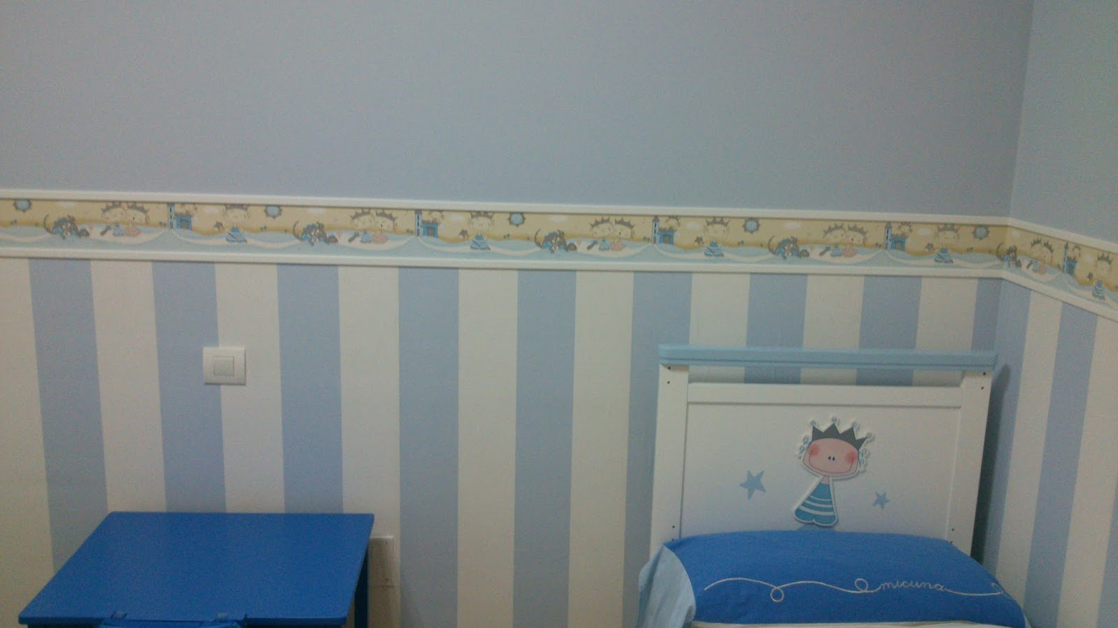 A y a pintura y decoraci n c mo transformar una habitaci n de ni o normal en una habitaci n de - Pintura habitacion ninos ...