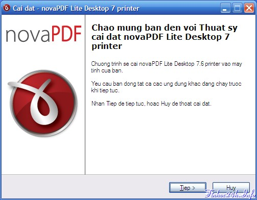 novaPDF Lite v7.6 Install