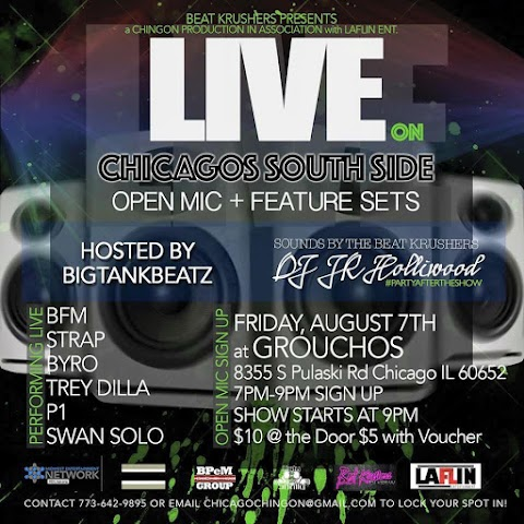 CHICAGO EVENT: Live Open Mic Aug 7th
