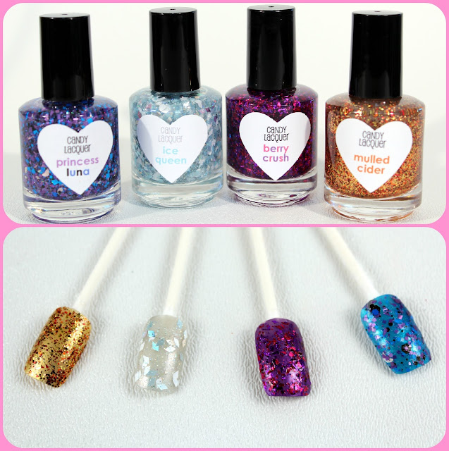 Candy Lacquer Polish and Swatches