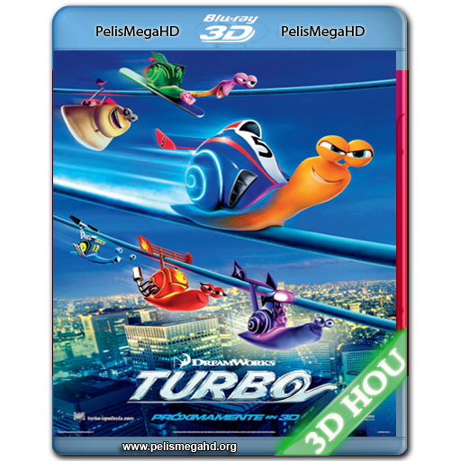 TURBO (2013) 3D HALF OU 1080P HD MKV ESPAÑOL LATINO