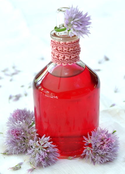 Ciao Chow Linda: Chive Blossom Vinegar