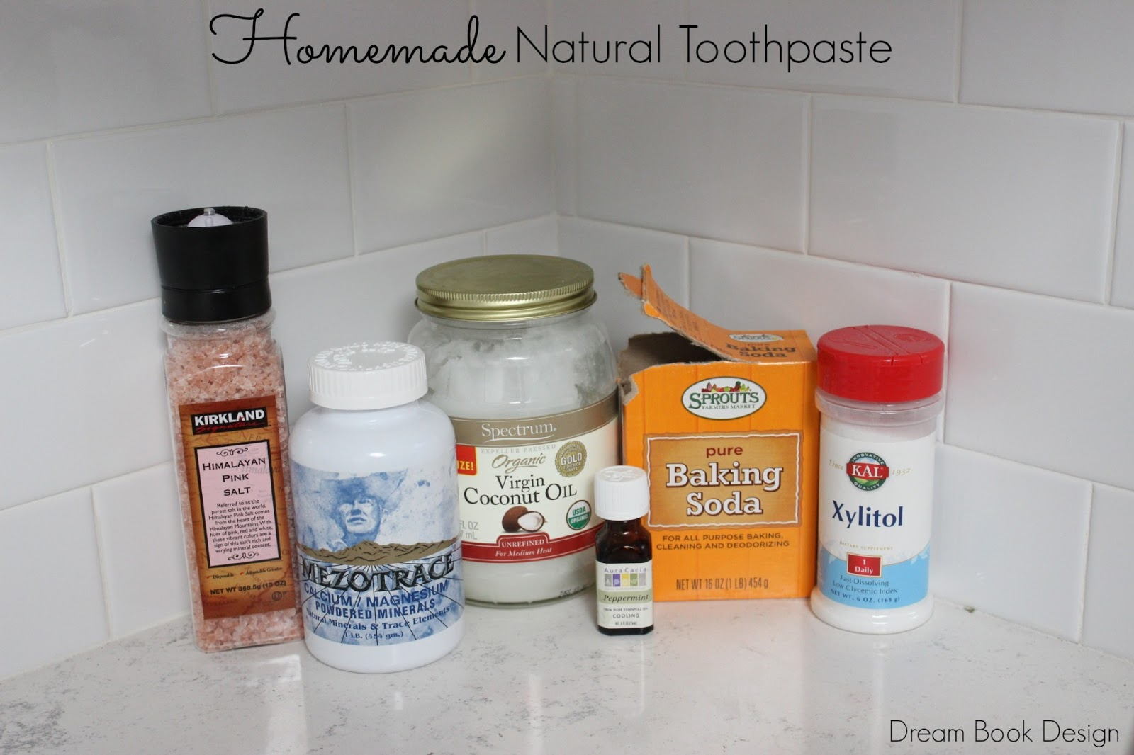 DIY Homemade Natural Toothpaste Recipe