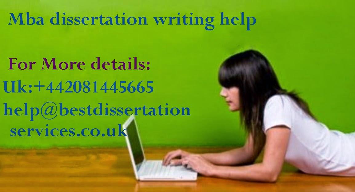 Mba dissertation help uk