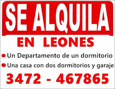 ESPACIO PUBLICITARIO: ALQUILER EN LEONES