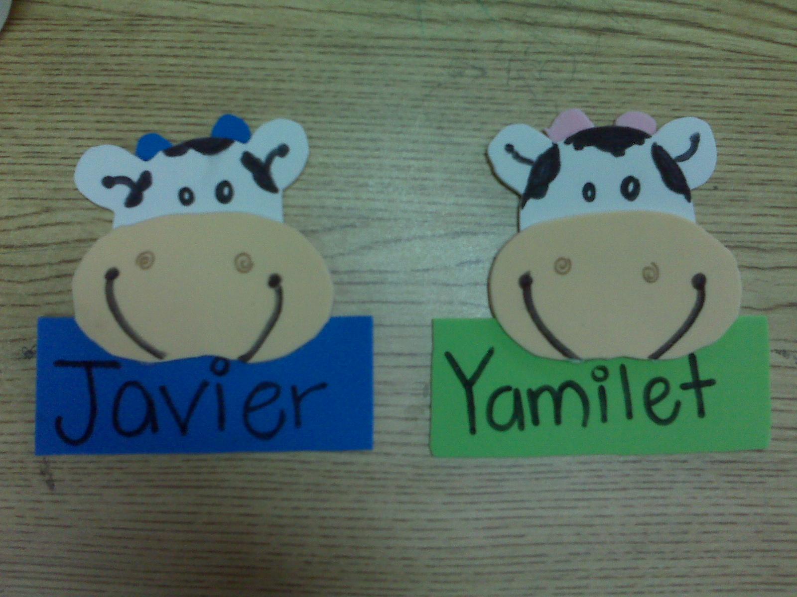 Gafetes de fomi para niños de primaria - Imagui