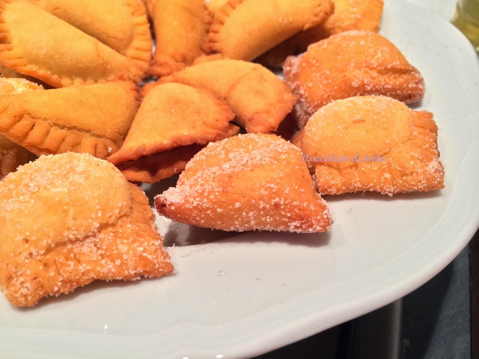 raviole fritte bolognesi (alla crema)
