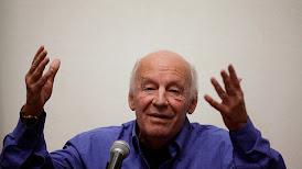 Eduardo Galeano falleció de cáncer a los 74 años