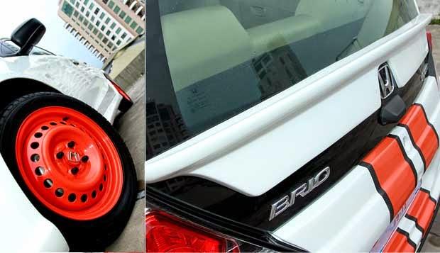 Modifikasi Velg Honda Brio