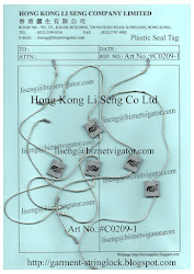 Plastic Seal Tag Supplier - Hong Kong Li Seng Co Ltd