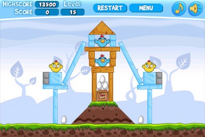 download free iphone games - download angry chickens free
