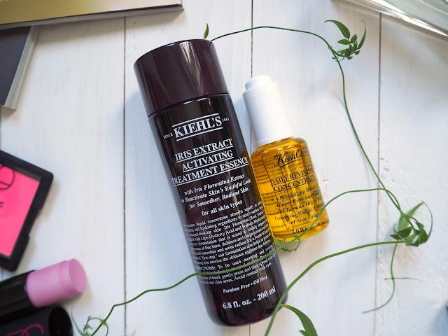 Kiehl's Эссенция с экстрактом ириса и Пробуждающее масло для лица