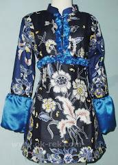 Batik muslim modern model terkini