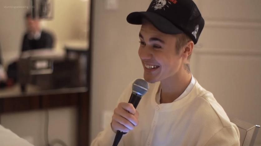 """Justin Bieber habló de Selena Gomez """"Ella me ama""""."""