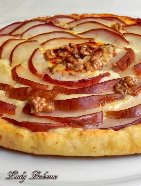 hiperica_lady_boheme_blog_cucina_ricette_gustose_facili_e_veloci_torta_crescenza_e_pere