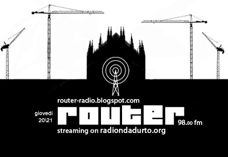 router - pratiche culturali, politiche,creative nella città
