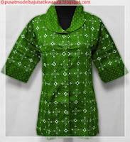 model baju batik kombinasi modern