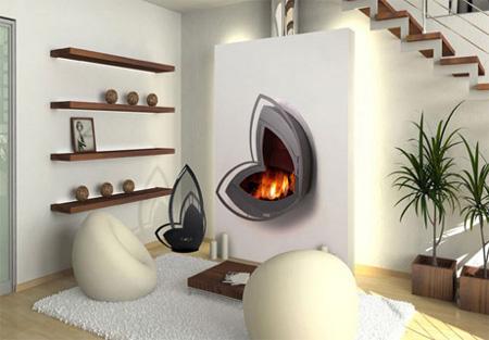 Decoraci n minimalista estilo futurista for Muebles de sala de moda