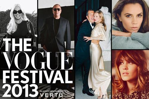 Vogue Festival 2013